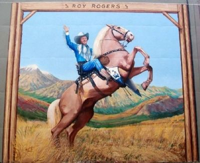 Roy Rogers Mural image. Click for full size.