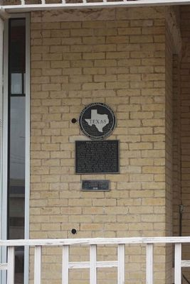Hill County Jail Marker image. Click for full size.