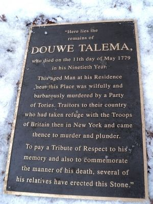 Douwe Talema Marker image. Click for full size.
