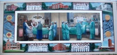 Medical History Mural image. Click for full size.