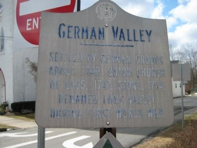German Valley Marker image. Click for full size.