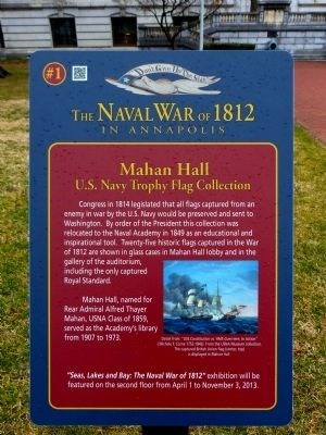 Mahan Hall Marker image. Click for full size.