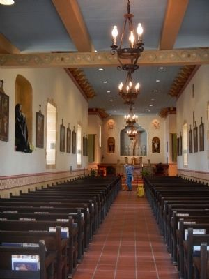 Interior of the San Carlos Cathedral image. Click for full size.