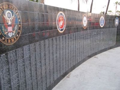 Latino Blood, American Hearts Wall of Honor image. Click for full size.