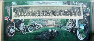 Portsmouth Motorcycle Club Mural image. Click for full size.