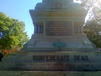 Confederate Mound Monument image. Click for full size.