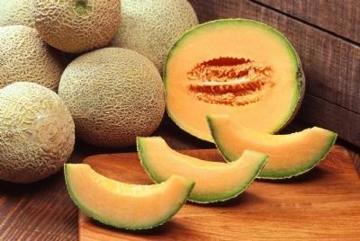 "North American ""cantaloupes"" are actually a type of muskmelon image. Click for full size."