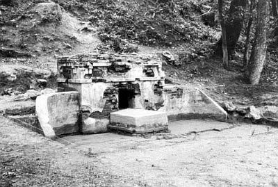 Coker Spring Excavated Spring, 1972 image. Click for full size.