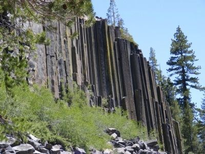 The Devils Postpile image. Click for full size.