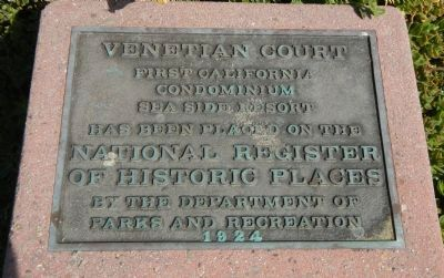 Venetian Court Marker image. Click for full size.