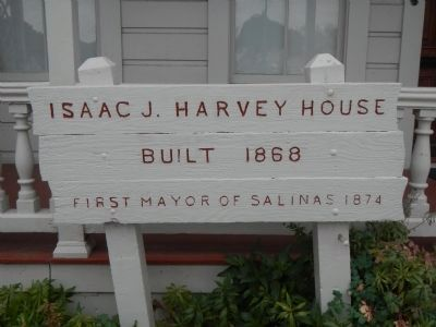 Isaac J. Harvey House image. Click for full size.
