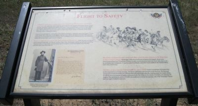 Flight to Safety Marker image. Click for full size.
