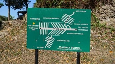 Malinta Tunnel: lay-out diagram image, Touch for more information