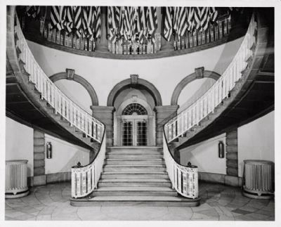 City Hall - Interior Double Staircase image. Click for full size.