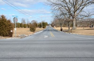 Looking East down the Goldenville Road image. Click for full size.