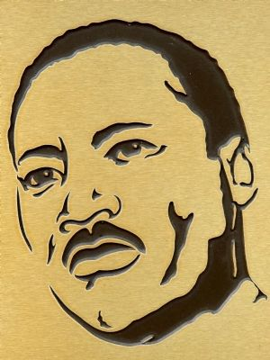 Martin Luther King Jr. image. Click for full size.