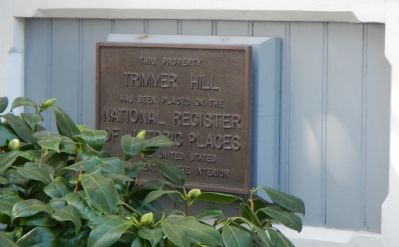 Trimmer Hill Marker image. Click for full size.