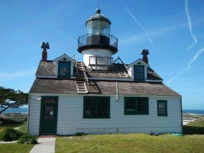 The Point Pinos Lighthouse image. Click for full size.