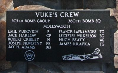 303rd Bomb Group 360th Bomb Squadron - Vuke's Crew image. Click for more information.