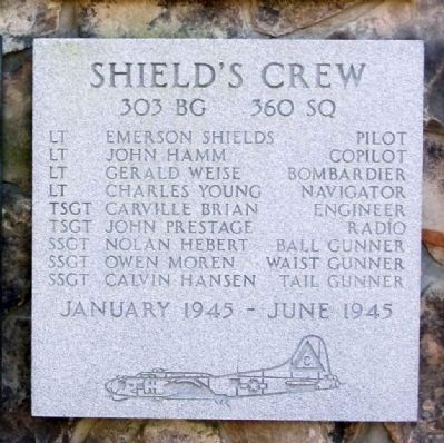 303rd Bomb Group 360th Bomb Squadron - Shield's Crew image. Click for more information.