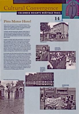 Pitts Motor Hotel Marker image. Click for full size.