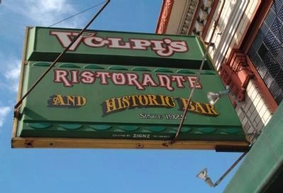 Volpi's Sign image. Click for full size.