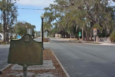 City of St. Marys Marker along Osborne Street image. Click for full size.