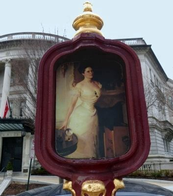 The Gilded Age Marker image. Click for full size.