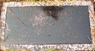 John Steuart Curry Headstone image. Click for full size.