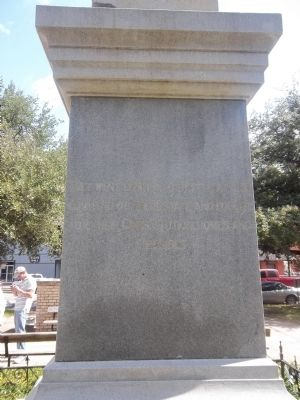 Kaufman County Confederate Soldiers Monument image. Click for full size.