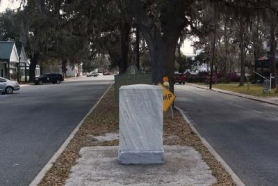 Spanish Occupation of Georgia Marker seen along Osborne Street (Georgia Route 40) image. Click for full size.