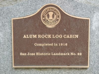 San Jose Historic Landmark Plaque image. Click for full size.