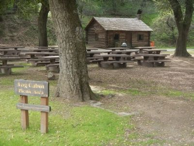 Log Cabin Picnic Area image. Click for full size.