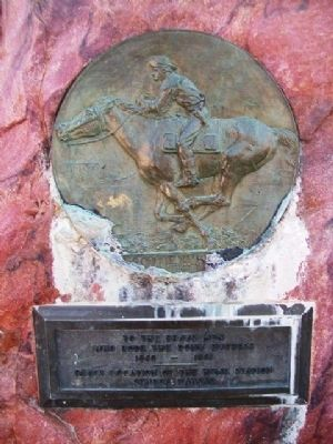 Pony Express Home Station Marker image. Click for full size.