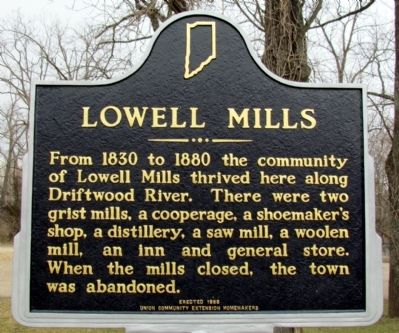 Lowell Mills Marker image. Click for full size.