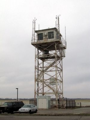 Atterbury Army Air Field Control Tower image. Click for full size.