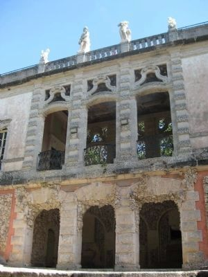 Casino building at Vizcaya Gardens image. Click for full size.