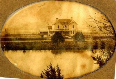 Early Photo of Falcon Rest Mansion image. Click for full size.