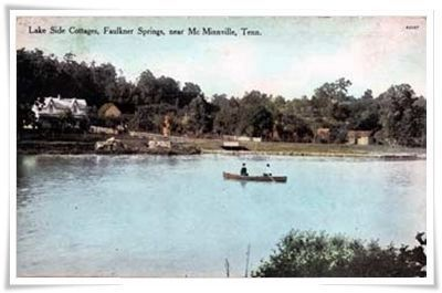 Rowboats on lake at Faulkner Springs Hotel image. Click for full size.