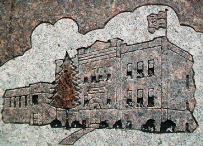Goff Elementary & Goff Rural High School Drawing on Marker image. Click for full size.