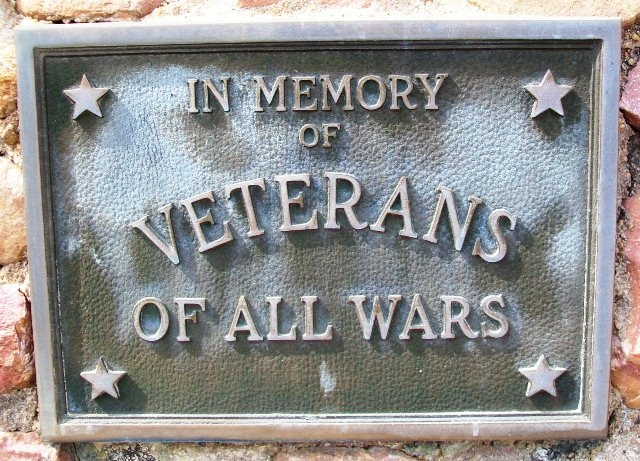 Veterans Memorial Marker