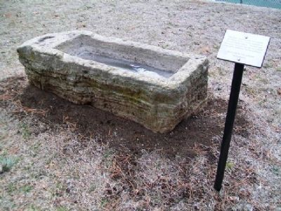 Livestock Water Trough and Marker image. Click for full size.