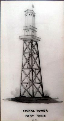 Signal Tower, Fort Reno D.C. image. Click for full size.