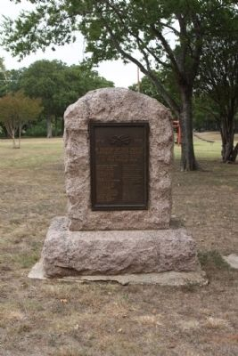 Navarro County World War Memorial Marker image. Click for full size.