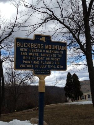 Buckberg mountain Marker image. Click for full size.