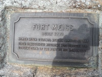 Fort Meigs Marker image. Click for full size.