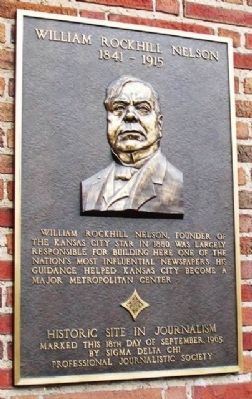 William Rockhill Nelson Marker image. Click for full size.