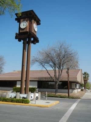 The Location of the Coalinga Centennial Time Capsule image. Click for full size.