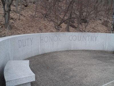 USMA Class of 1952 Memorial image. Click for full size.