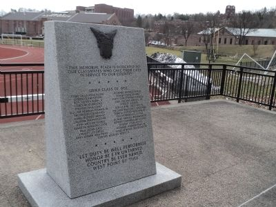 USMA Class of 1952 Memorial Marker image. Click for full size.